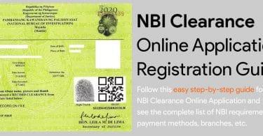 NBI Clearance Online Application & Registration Guide 2019