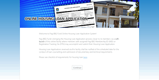 Pag-IBIG Online Housing Application Form